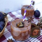 Spiced Apple & Plum Smoothie