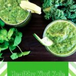 Healthy Kiwi Kale Smoothie
