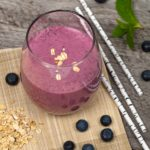 Finnish Blueberry Oatmeal Smoothie