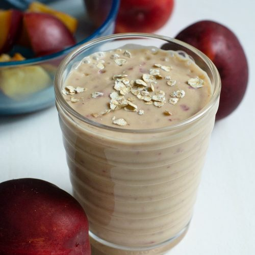 Nectarine Breakfast Smoothie