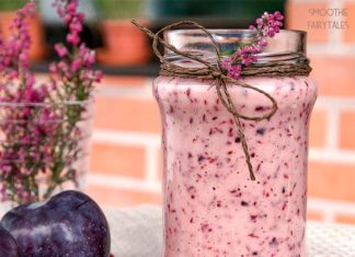 Lingonberry and Plum Smoothie