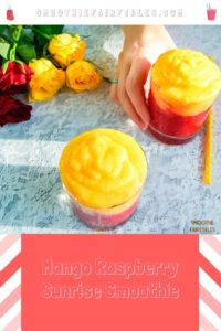 Mango Raspberry Smoothie