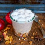 Delicious Apple Pie Smoothie Jar
