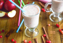 Immune System Booster: Cranberry Apple Smoothie