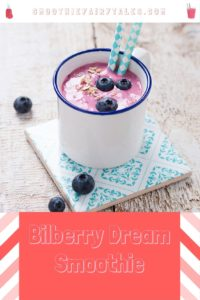 bilberry blueberry smoothie