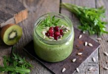 Arugula and Avocado Detox Smoothie